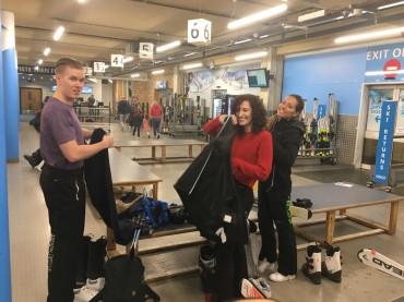 Away day 2018 Summer Indoor Skiing