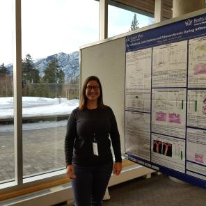 Ms Mary Walker at the Banff Inflammation Workshop