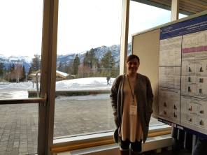 Dr Patricia Souza at the Banff Inflammation Workshop