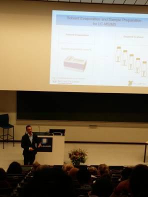 Dr Jesmond Dalli presenting at the 7th European Workshop on Lipid Mediators