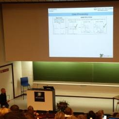 Dr Romain Colas presenting at the 7th European Workshop on Lipid Mediators