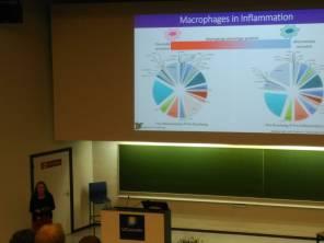Ms Kim Pistorius presenting at the 7th European Workshop on Lipid Mediators